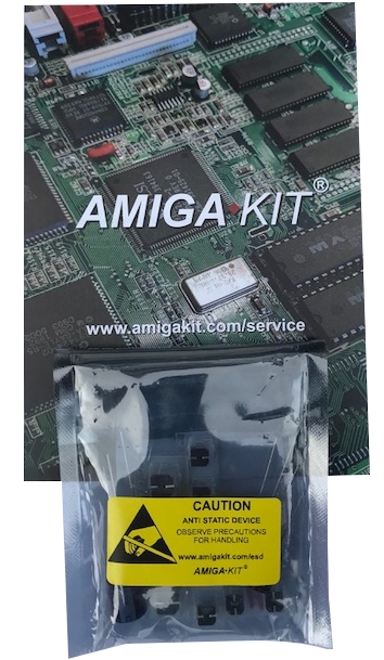 Amiga Capacitor Pack for Professional Recapping